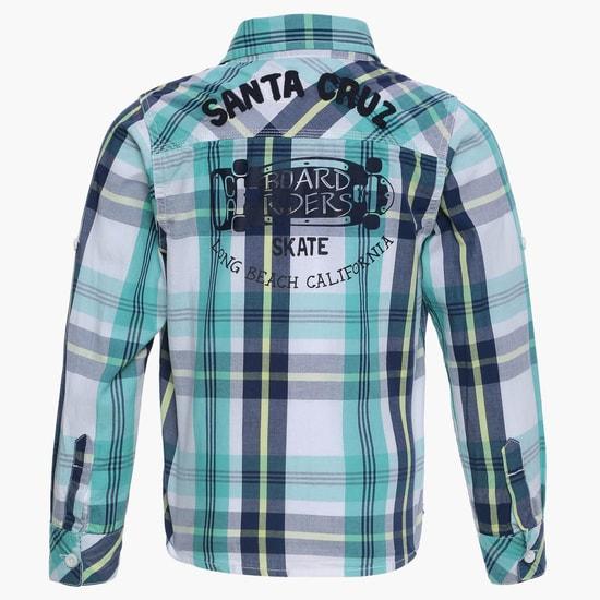 MAX Plaid Checks Full Sleeves Shirt