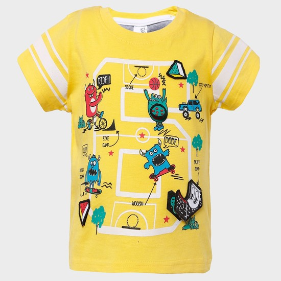 MAX Whoopsie Game Graphic Print T-Shirt