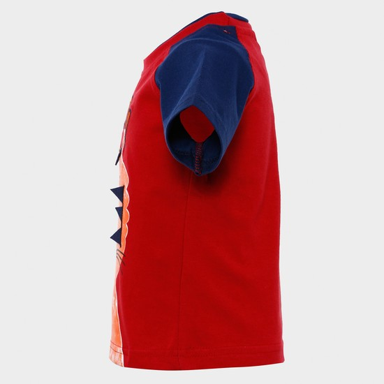 MAX Tiger Print Half Sleeves T-Shirt