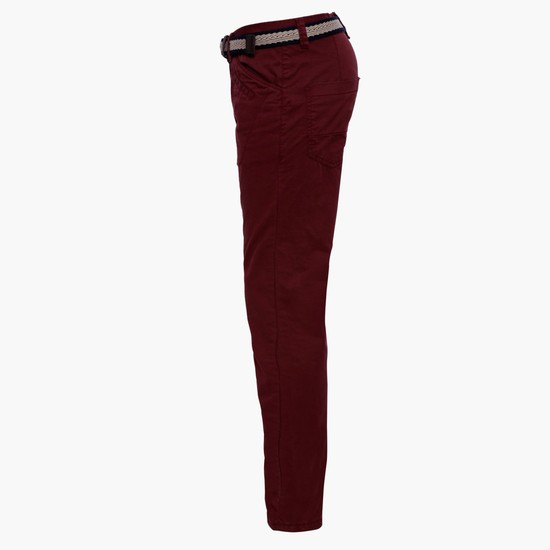 MAX Solid Belted Pants