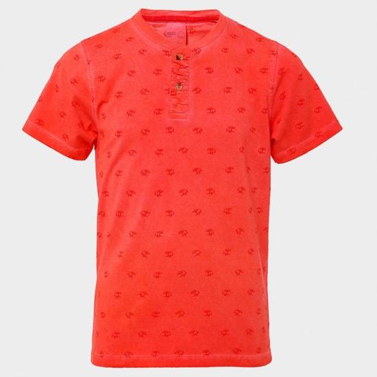 MAX Splash Waves Printed T-Shirt