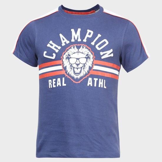 MAX Little Champion Crew Neck T-Shirt