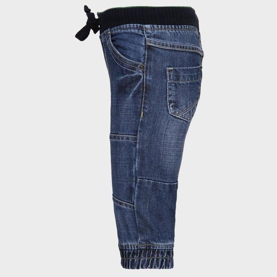 MAX Slim Fit Elasticated Waist Jeans