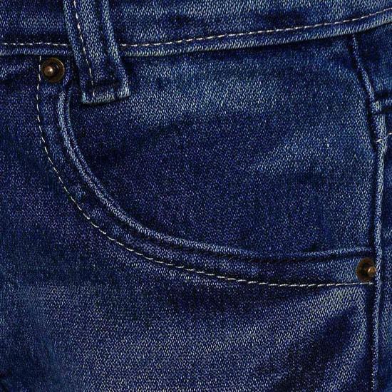 MAX Stonewashed Five Pocket Jeans