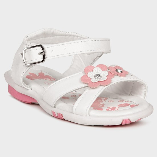 MAX Flower Girl Strappy Sandals