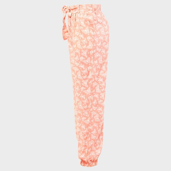 MAX Butterfly Print Jogger Pants