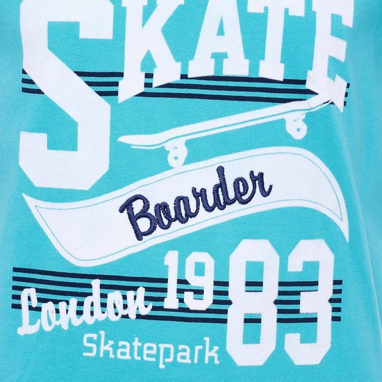 MAX Skate-Boarder Crew Neck T-Shirt