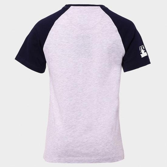 MAX NY Print Raglan Sleeves T-Shirt