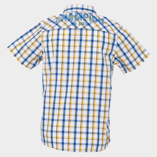 MAX Plaid Checks Half Sleeves Shirt