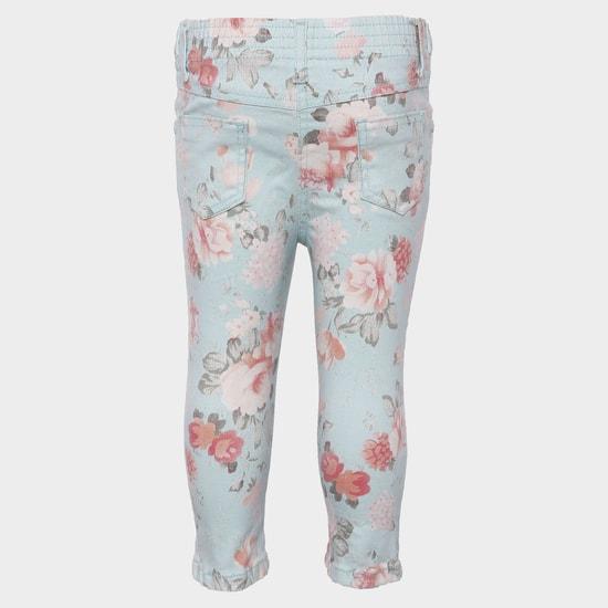 MAX Daisy Floral Print Pant