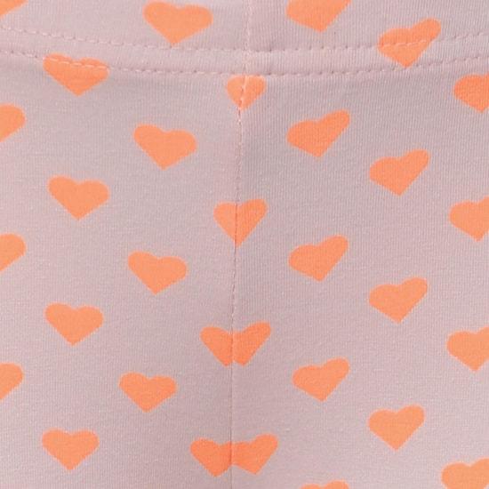 MAX Heart Print Leggings
