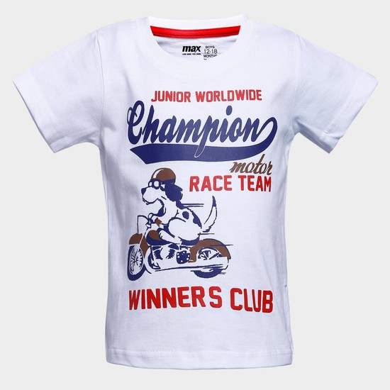 MAX Motor Race Team Crew Neck T-Shirt