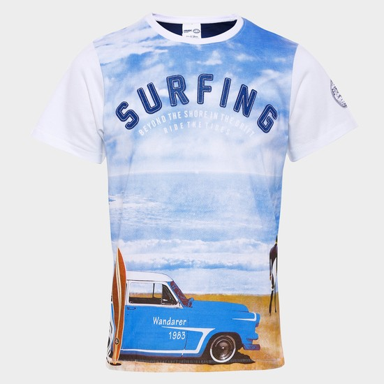 MAX Surfing Love Crew Neck T-Shirt