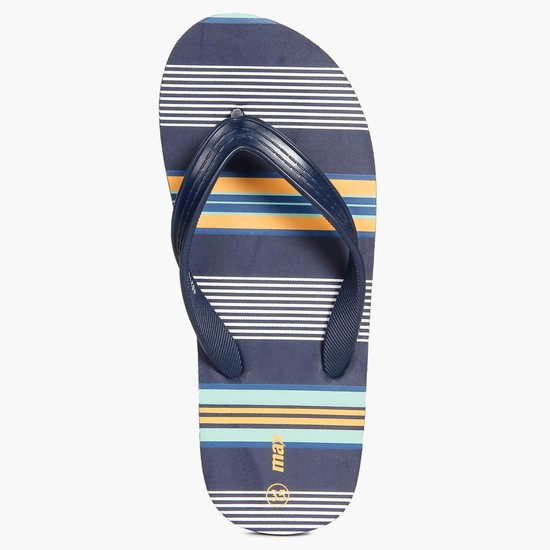 MAX Striped Insole Flip-Flops