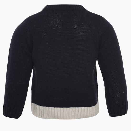 MAX Reindeer Knit Sweater