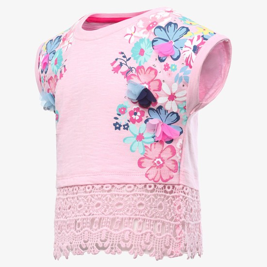 MAX Floral Lace Top
