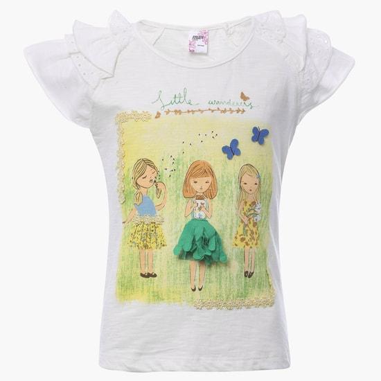 MAX Lace Trim T-Shirt