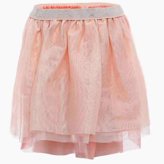 MAX Glittery Net Skirt