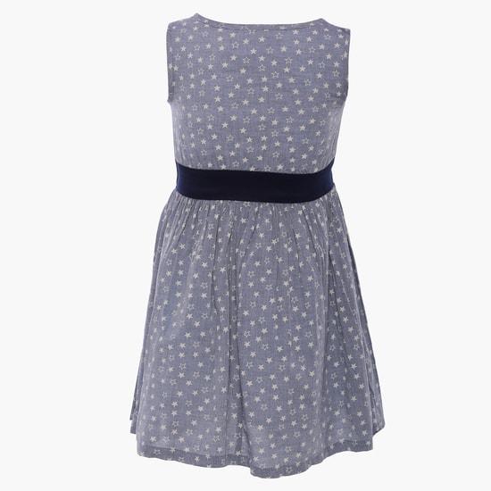 MAX Starry Sleeveless Dress