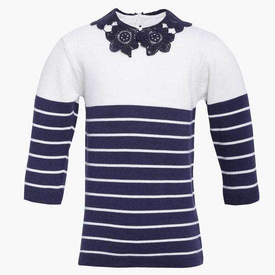 MAX Crochet Trim Top
