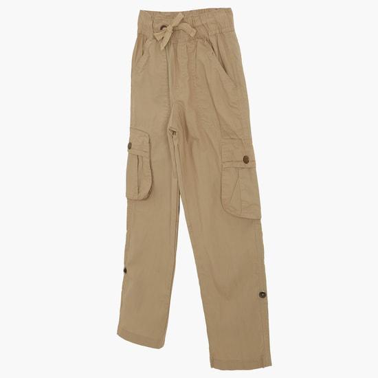 MAX Solid Elasticated Waist Pants
