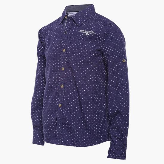 MAX Starry Print Full Sleeves Shirt