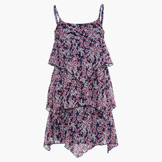MAX Layered Hankercheif Dress