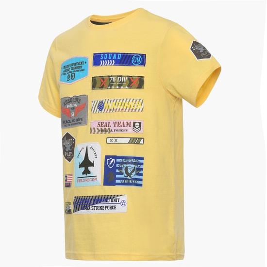 MAX Applique Crew Neck T-Shirt