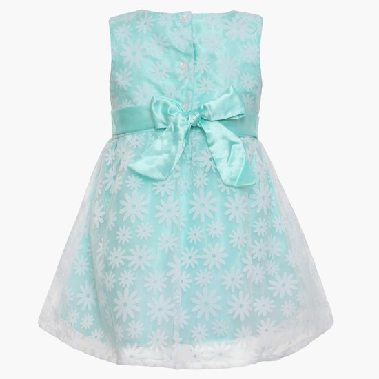MAX Floral Mesh Dress