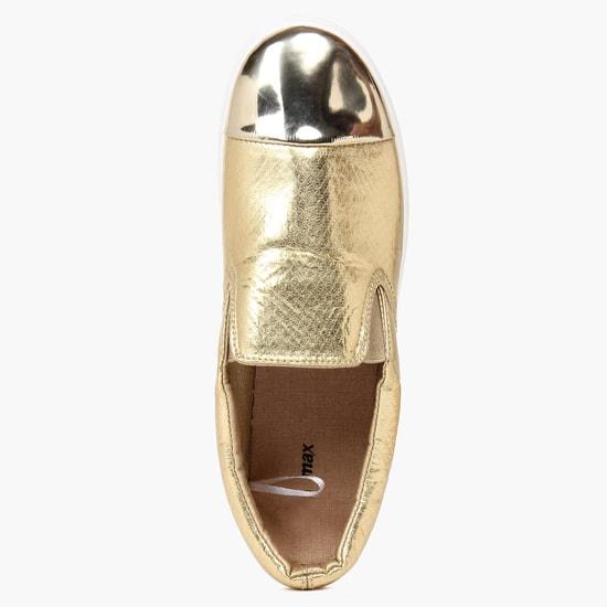 MAX Metallic Toe Slip-Ons