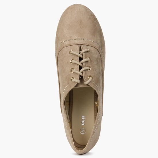 MAX Suede Finish Casual Oxford Shoes