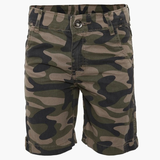 MAX Camouflage Print Shorts