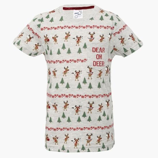 MAX Reindeer Print T-Shirt
