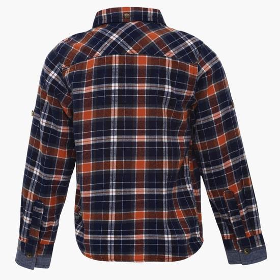 MAX Checks Print Full Sleeves Shirt