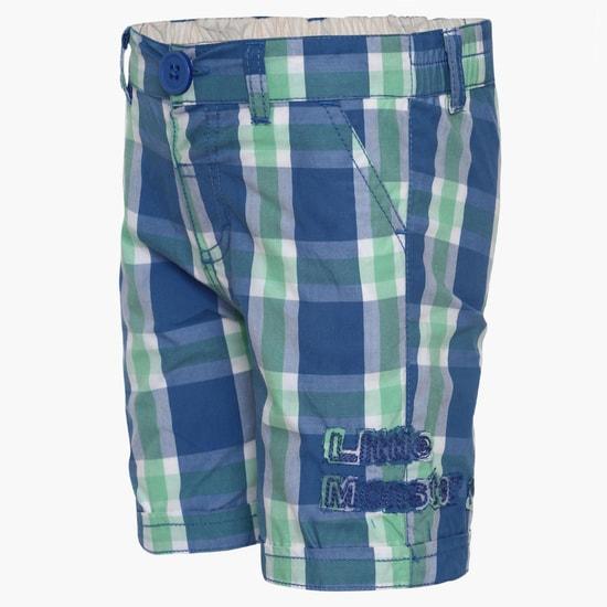 MAX Casual Check Shorts