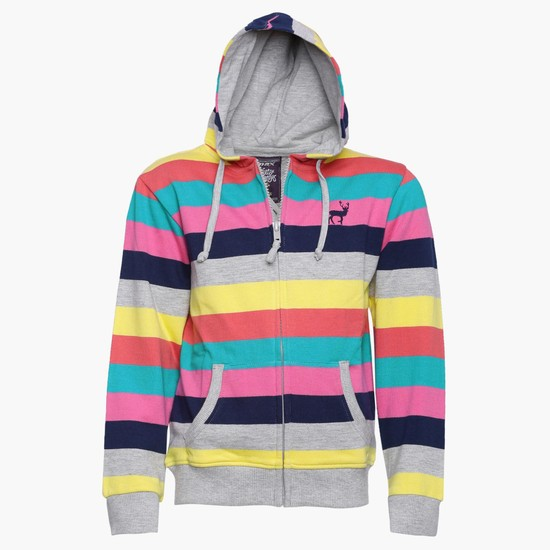 MAX Colour Band Hoody