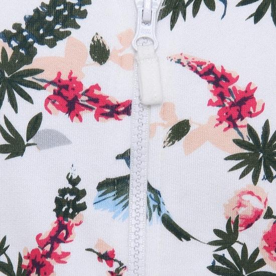 MAX Floral Print Hoodie