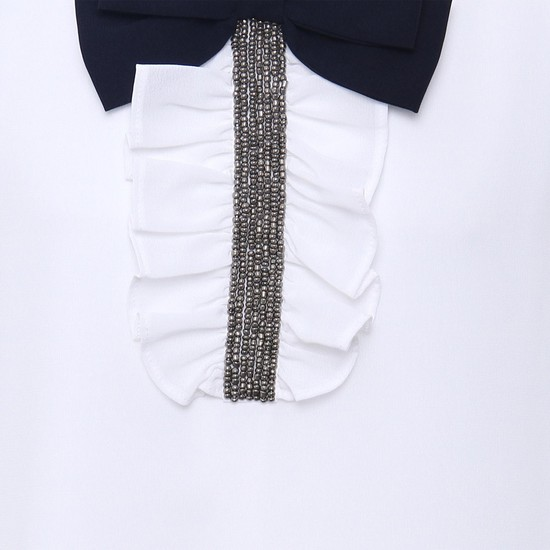 MAX Bejewelled Bow Top