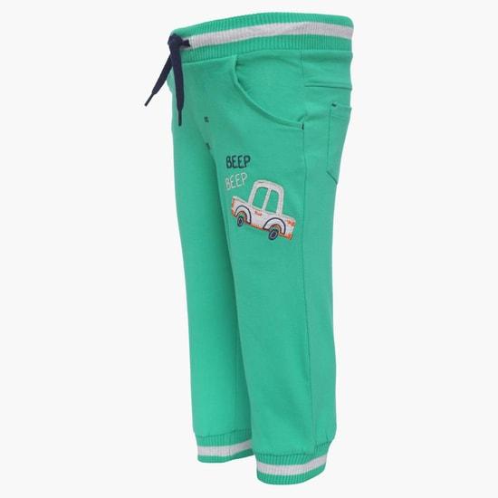 MAX Solid Pocketed Jogger Pants