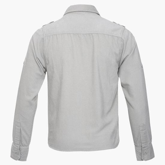MAX Corduroy Full Sleeves Shirt
