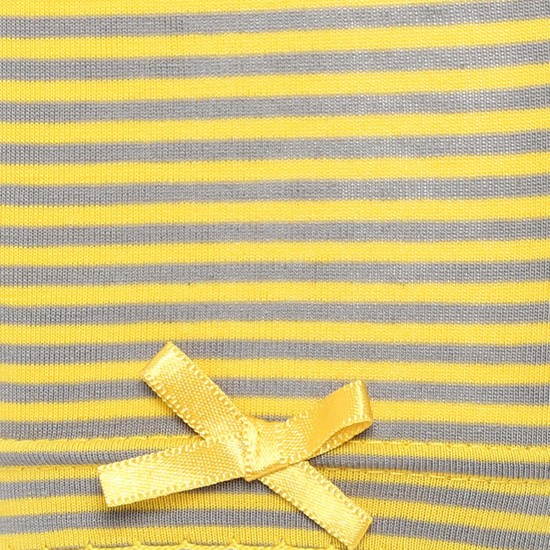 MAX Striped Bow Detail Leggings