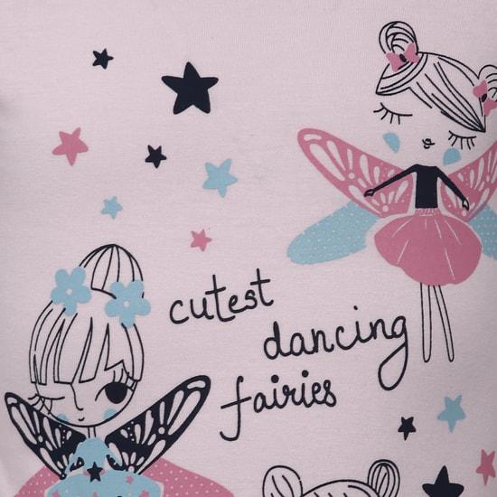 MAX Dancing Fairies Full Sleeves Top