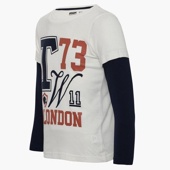 MAX London Full Sleeves T-Shirt