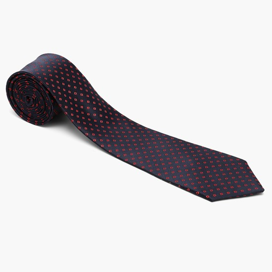 MAX Geometric Textured Formal Tie