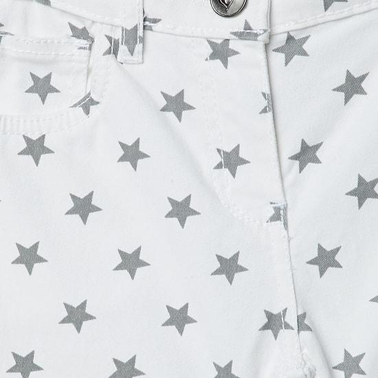 MAX Starry Print Shorts