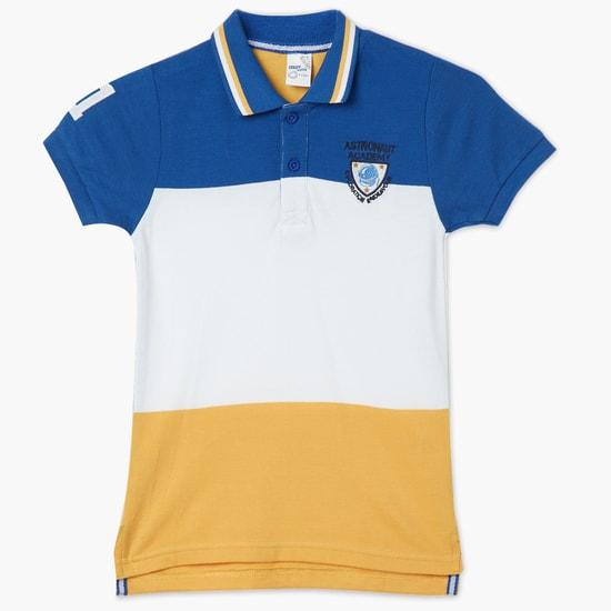 MAX Colourblock Polo T-shirt