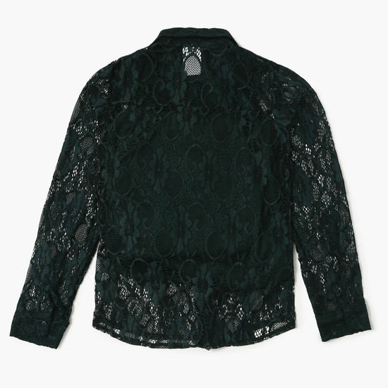 MAX Lace Full Sleeves Blouse