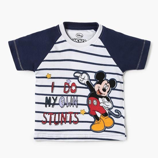 MAX Mickey Stunts Raglan Sleeves T-Shirt
