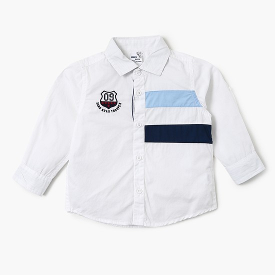 MAX Stripe Band Full Sleeves Shirt