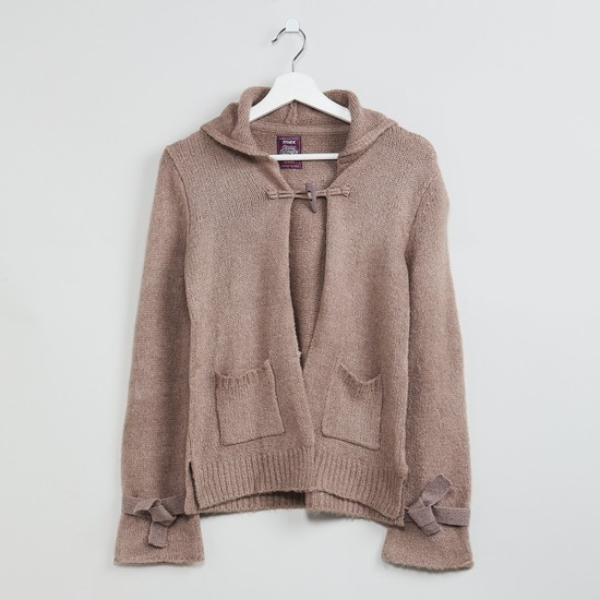 MAX Solid Hooded Sweater
